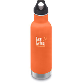 Klean Kanteen Classic Vacuum Insulated Drinkfles Loop Cap 592ml oranje
